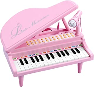 BAOLI Toy Piano for Girls - Birthday Gift for 3 4 5 Year Old Toddlers – Educational Piano Musical Instrument Toys - Keyboa...
