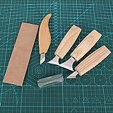 Utensili per intagliare il legno in acciaio inossidabile, accessorio per la lavorazione del legno Coltello per intagliare il coltello, Coltello per intaglio a gancio per professionisti