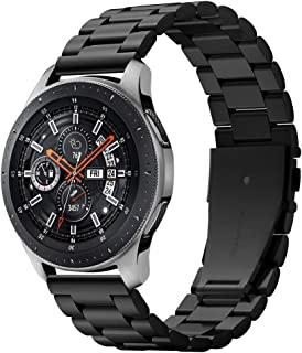 Spigen Modern Fit Designed for Samsung Galaxy Watch 46mm Band (2018) / Designed for Samsung Gear S3 Frontier Band, Gear S3 Classic Band (2016), Smartwatch Band - Black