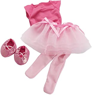 Manhattan Toy Baby Stella Tiptoe Ballet Tutu Baby Doll Clothes for 15