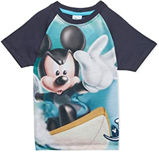 Disney Printed T-Shirt for Boys - Parisian Navy/Turquoise
