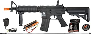 Lancer Tactical Gen 2 CQB MOD 0 AEG LT-02 Electric Automatic Airsoft Gun, Black - High Velocity