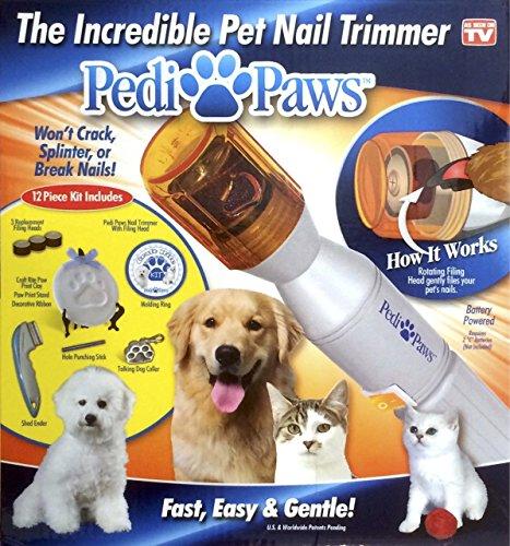 PEDI PAWS Ensemble d'entretien pour griffes des chiens