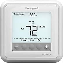 هانيويل TH6210U2001/U T6 Pro قابل للبرمجة، 2 مضخة حرارة / 1 حرارة باردة أو 1 حرارة عادية رائعة
