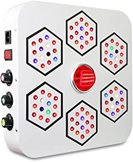 LED Grow Light Full Spectrum for Indoor Plants Veg and Flower Dimmable COB Growing Lamps BloomBeast A520 520w 13 Band with UV IR 3 Dimmers hydroponics Lighting