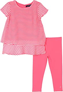 Baby Girls' Fashion Top with Legging Two Piece Set