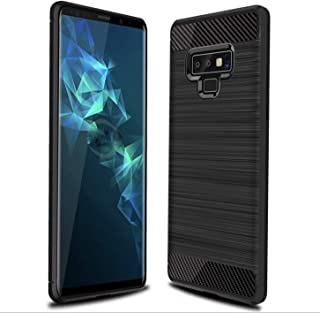 Rugged Armor Galaxy Note 9 Case With Shock Absorbing Carbon Fiber Design For Samsung Galaxy Note 9 2018 -Black