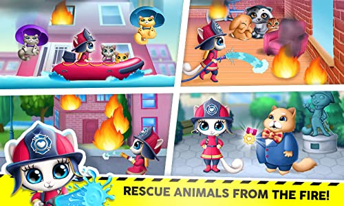『Kitty Meow Meow City Heroes - The Brave and the Fluffy! Cats to the Rescue!』の8枚目の画像