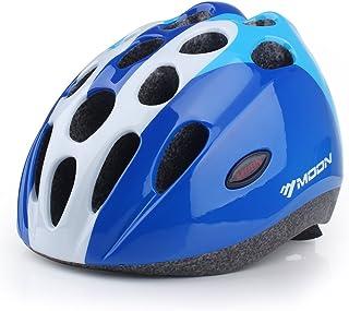 Base Camp Moon Toddler Multi-Sport Helmet for Biking Skating Skateboarding (Gloss Blue)