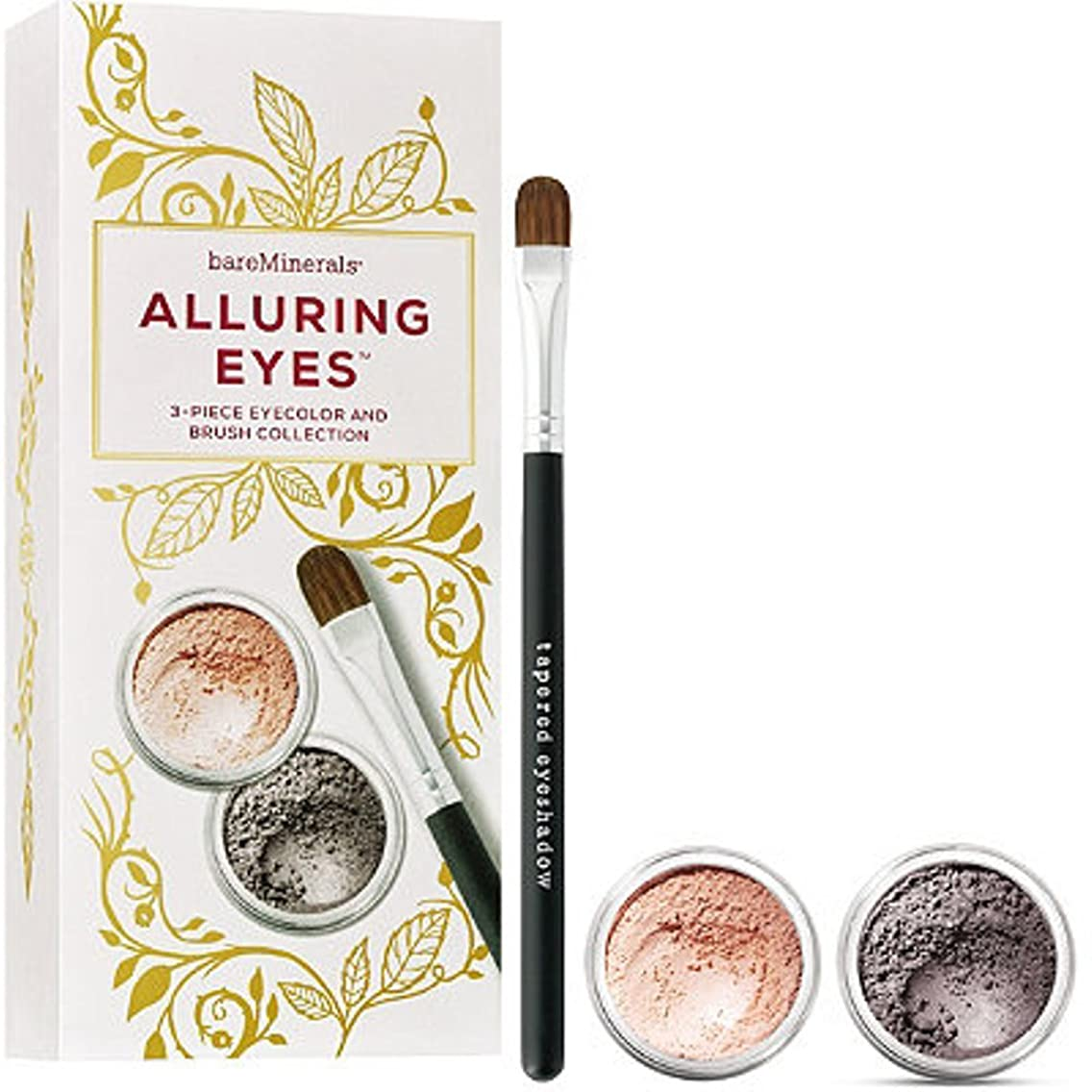 bareMinerals Alluring Eyes 3 Piece Eyecolor & Brush Collection