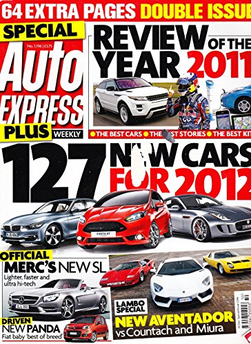 Auto Express Magazine, 14th December 2011, Special Issue Number 1196, 64...