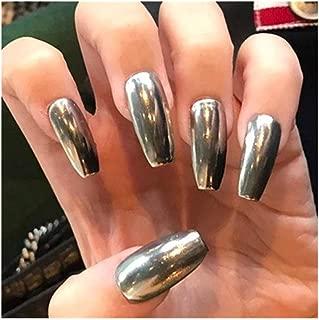 Best chrome coffin nails Reviews