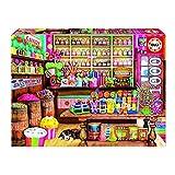 Educa- Tienda de Dulces Puzzle, 1000 Piezas, Multicolor, 1.000 (17104)