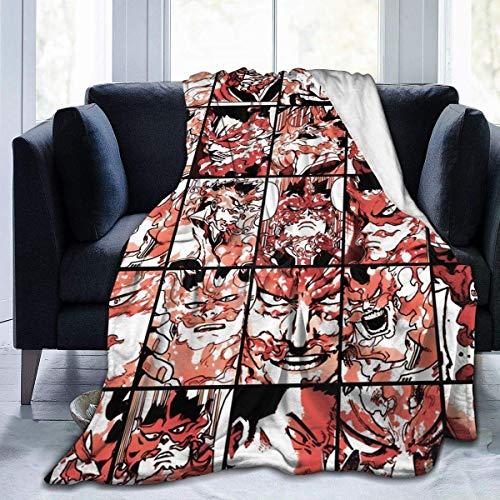 Superweiche, leichte Tagesdecke Tamaki Amajiki Collage Sommerdecke für Bett, Couch, Sofa – Todoroki Enji