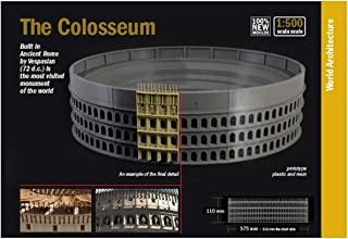 PARATOS Vintage Rome Colosseum Model Metal Statue Ancient Architecture Bronze Collectible Figurine Handmade Crafts Home D/écor Artificial World Famous Building Souvenir Sculpture