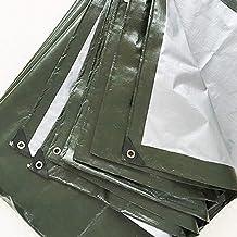 Heavy Duty Tarp Reinforced Oogjes Dik PE Dekzeil waterdicht Premium Quality Cover Tarp voor Outdoor Camping,2 * 4m