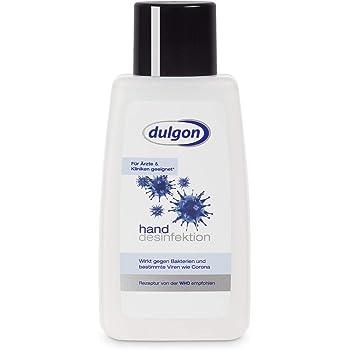 dulgon Desinfektionsmittel für Hände 125 ml - Rezeptur von der WHO empfohlen - Bakterizid & begrenzt viruzid - alkoholisches Desinfektionsmittel Hand - Haut Desinfektion - Händedesinfektion