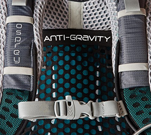 Osprey Packs Pack Aura Ag 65 Backpack, Vestal Grey, Small