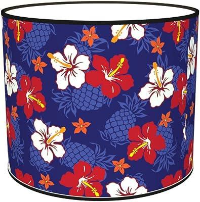 Abat-jours 7111307073147 Imprimé Anais Lampadaire, Tissus/PVC, Multicolore
