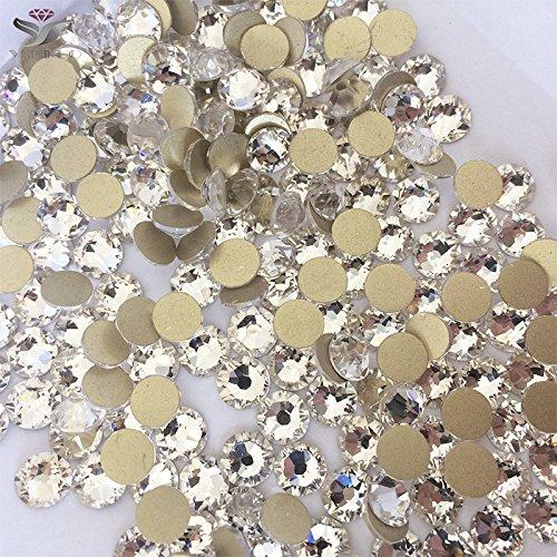 1440pcs DIY Strass Rhinestone Diamant Cristal transparent Décoration Accessoires SS10