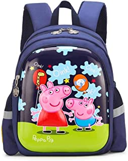 ERHU-ChildrenBackpack Mochila de Peppa Pig-George para niñ
