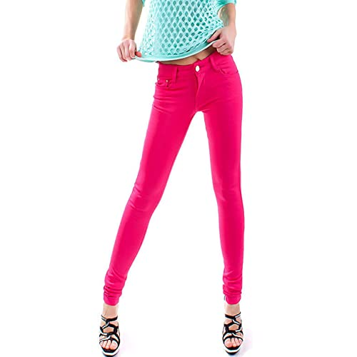 f4aedf3479851 Women Ladies Stretchy Fitted Jeans Jeggings 8-26