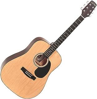 Santa Rosa K539 Full Size Western Dreadnought Guitar, Natural