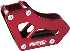 Outlaw Racing Chain Guide Slider Guard- Rear Red