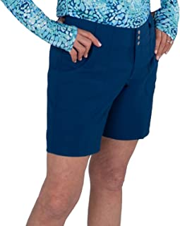 Jofit Apparel Women's Athletic Clothing Belted Golf Short, Cove