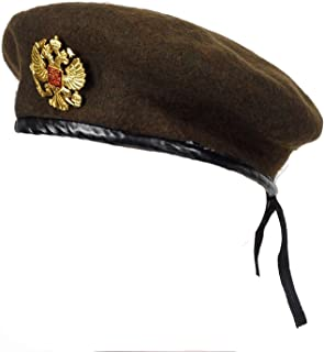 Wool Knitted Men Beret Hat Special Forces Soldiers Uniform Cap Death Squads Training Camp Cap Hats