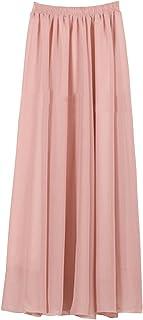 purchase cheap 97980 81d9b Amazon.it: gonna lunga rosa - Rosa