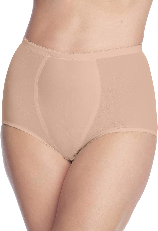 Secret Solutions Women's Plus Size Firm Control 2-Pack Brief Underwear