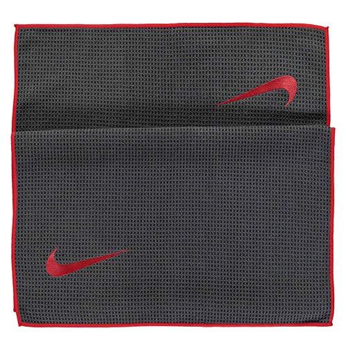 Nike Tour - Toalla de microfibra para deportes de golf, color gris y naranja