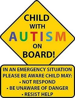 Best autism car stickers Reviews