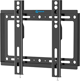 Pipishell Low Profile Fixed TV Wall Mount Bracket, Ultra Slim for Most 17-42 inch LED, LCD OLED and Plasma Flat Curved Scr...