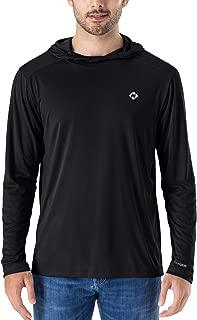 NAVISKIN Men's UPF 50+ UV Sun Protection Hoodie Lightweight Outdoor Long Sleeve T-Shirt