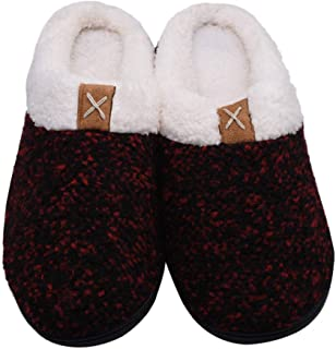 KINDOYO Warm Slippers - Memory Foam Slippers for Indoor & Outdoor Suitable for Women and Men