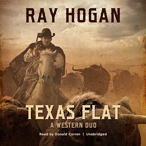 Texas Flat audiobook cover art
