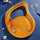24 Cuerdas Arpa De Madera, Arpa PortáTil, El Instrumento Musical MáS Antiguo De Occidente, Durables Instrumento Musical-24 String