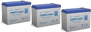 12V 10.5AH SLA Battery for Neuton CE6 Cordless Electric - 3 Pack