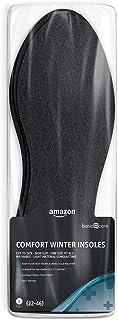 Amazon Basic Care - Solette invernali comfort - 3 paia (taglia di scarpe: 22-46)