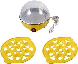 JULYKAI Cuiseur à Vapeur Multifonctionnel à Double Couche avec cuiseur Automatique(Yellow)