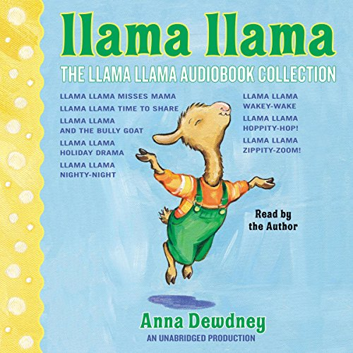 The Llama Llama Audiobook Collection audiobook cover art
