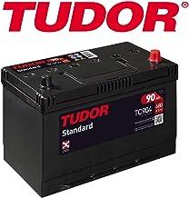 BATERIA TUDOR 90AH / 680A (EN) +D GAMA STANDARD 2 AÑOS DE