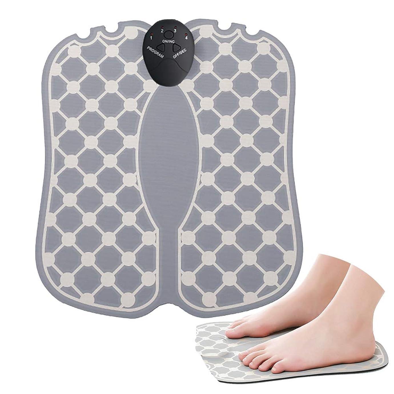 違反議題泥沼足のマッサージトマッサージャーフットマッサージャーEMSの減圧は深いティッシュ、足の器械が付いている苦痛の足を緩めます