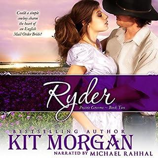 Ryder audiobook cover art