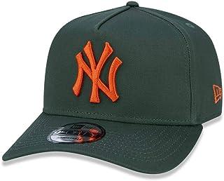 BONE 9FORTY A-FRAME ABA CURVA AJUSTAVEL MLB NEW YORK YANKEES BASIC ABA CURVA SNAPBACK VERDE NEW ERA