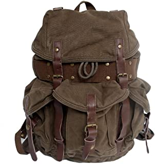 Fashion Leisure Day Backpack, Mountain Leisure Large Capacity Backpack Travel Travel Shopping Business (Color : Brown, Size : S)