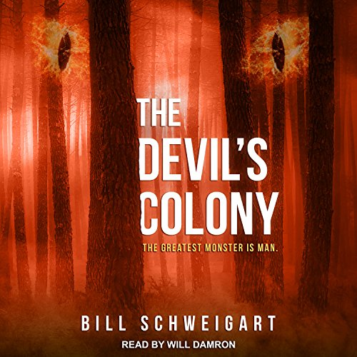 The Devil's Colony audiobook cover art