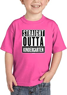 Haase Unlimited Straight Outta Kindergarten - Parody Infant/Toddler Cotton Jersey T-Shirt